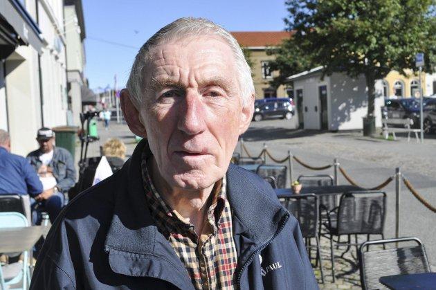 PENSJONISTPARTIET: Nils Sagstuen er leder av Halden Pensjonistparti.