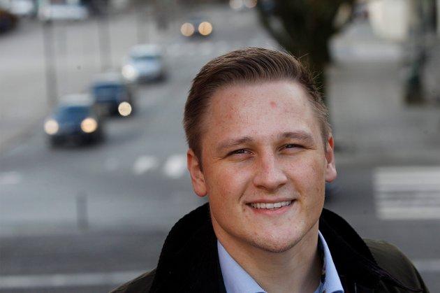 STØTTER: Harald Larssen Lønning er en av tolv politikere som stiller seg bak Alf Magne Grindhaugs forslag.