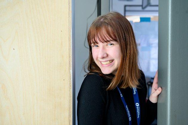 Dina Eriksen Hagen (15): Jeg har søkt studiespesialisering på sentrum videregående i Mosjøen. Det er det som gir meg flest valgmuligheter etterpå. Jeg er ikke lei av å gå på skole enda, og jeg tror det blir bra med studiespesialisering.