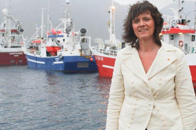SVARER: Kristina Hansen.