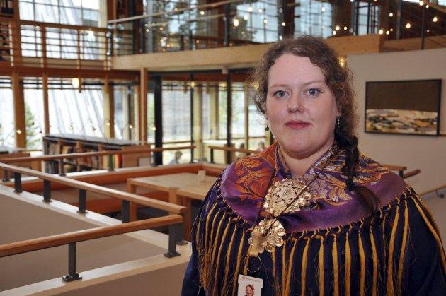 IVARETA: Silje Karine Muotka mener man må ivareta og fornye det som har dannet grunnlag for bosetting i området framfor å satse på gruvedrift i Repparfjord.