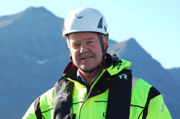 TAR TIL MOTMÆLE: Stig Nilsen, myndighetskontakt i Lerøy Seafood Group.
