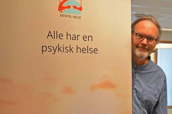 Svein Inge Lundli. Leder for Mental Helse Bø i Vesterålen.
