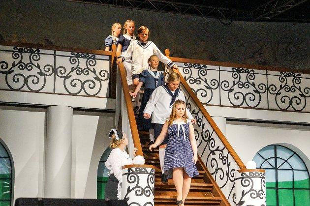 Barna i familien von Trapp.