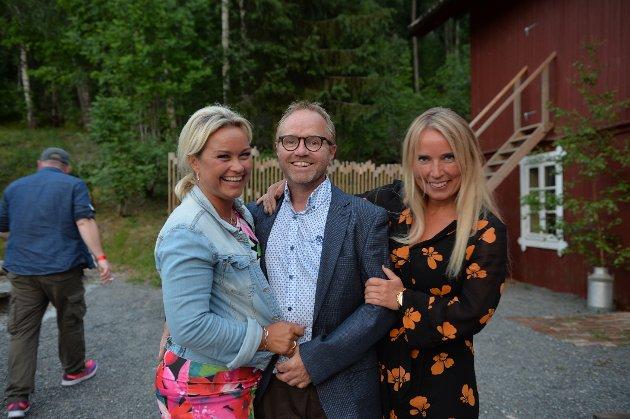 Kari Anne Næsset Bernhus, Hans Kristian Bernhus og Heidi Marie Stenshaugen.