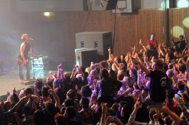 Full fest: Bjørkelangen Musikkfestival er kjent for høy stemning og stor partyfaktor.