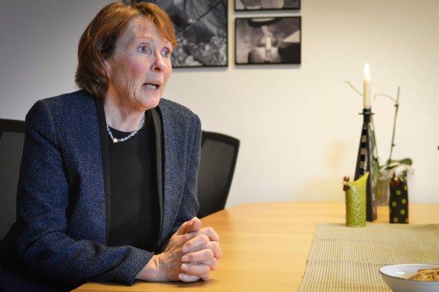 INNSENDEREN: Kongsberg-ordfører Kari Anne Sand gjør sitt for å unngå en maritim krise.