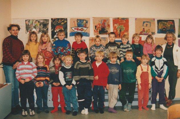 Skottnes skole,  1. klasse 1994-95.