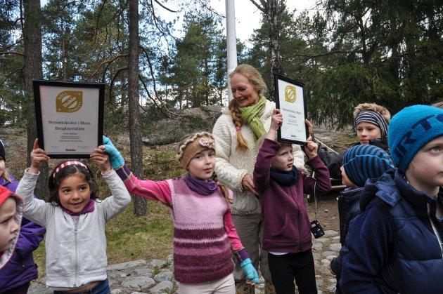 Steinerskolen har fått gullmerke av Debio for sitt grønne kjøkken
