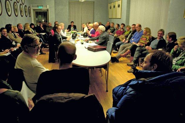 Hvem sa hva: MDG's Bente Bakke er ikke enig i beskrivelsen av seg selv. Bildet er fra et tidligere formannskapsmøte i Vestby kommune. foto: kjersti halvorsen