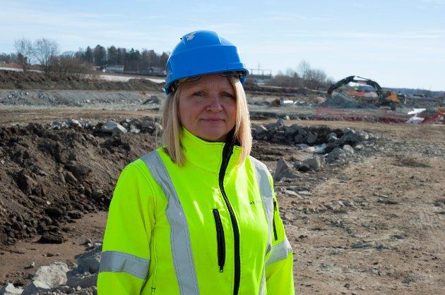 Bettina Sandvin er Utbyggingsdirektør for prosjektene i Øst i Bane NOR