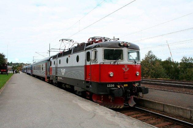 BANE I NORD: Fra jernbanestasjonen i Narvik.