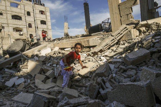 – Det er nok nå. Slutt å lyv om hva som foregår i Palestina. Det er ikke likestilt, skriver Torvald Therkildsen.