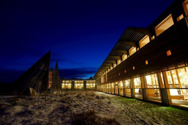 Norvège, région du Finnmark, ville Karasjok, parlement Same le Sametinget.