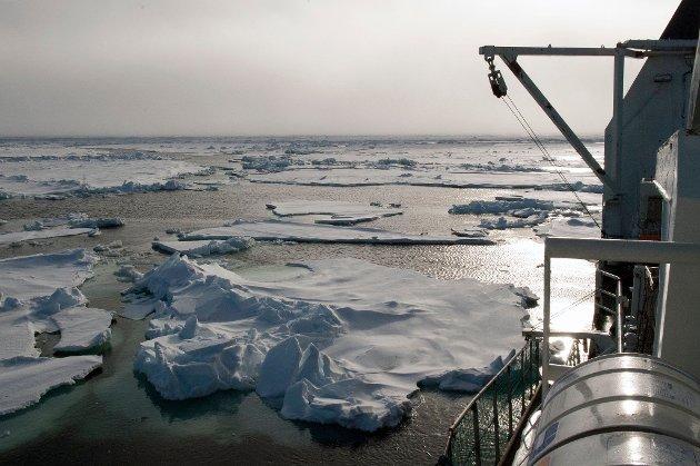 HAVNIVÅET STIGER: FNs sjette klimarapport viser at gjennomsnittstemperaturen på kloden stiger raskere enn noen gang, at havtemperaturen øker, det blir mer nedbør og ekstremvær, isdekket på Grønland og i Antarktis smelter, og havnivået stiger.