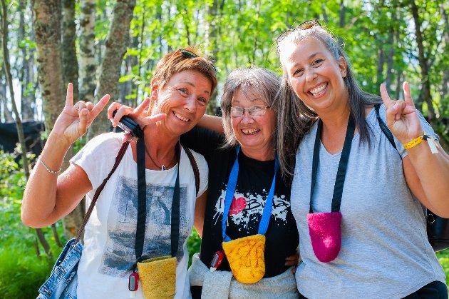 Fra venstre: Mette Johannesen, Marit Odseid og Tine Kristoffersen.