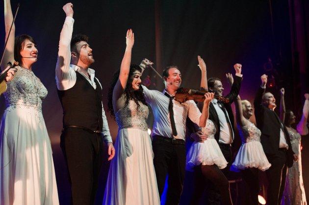 GOD UNDERHOLDNING: Anmelder mener Celtic Nights byr på noen av de morsomste konsertene Nordlysfestivalen har hatt hittil.