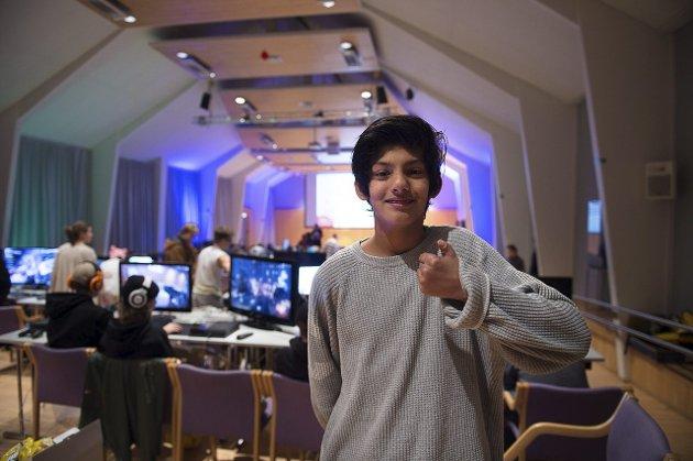 Hassan Mahmood er på sin andre Gårdslan.