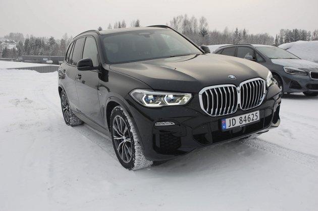 BMW X5. FOTO: ØYVIN SØRAA