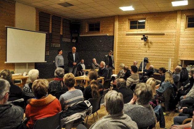 Arkivbilde fra folkemøtet om Wolla