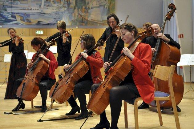 MUSIKKBYEN: Sinfonietta Innlandet har i mange år gledet gjøviksensere og andre med sin musikk.