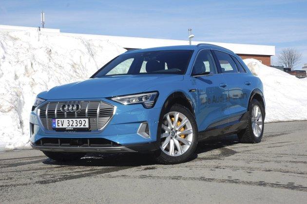 Audi e-tron 55 Quattro. Foto: Øyvin Søraa