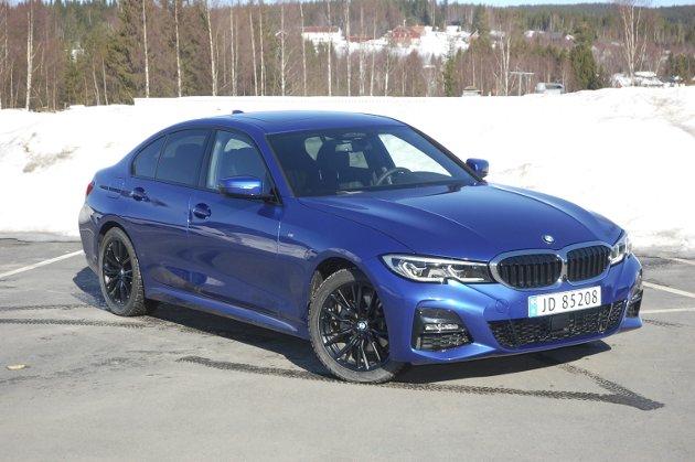 BMW 3-serie 2019. FOTO: ØYVIN SØRAA