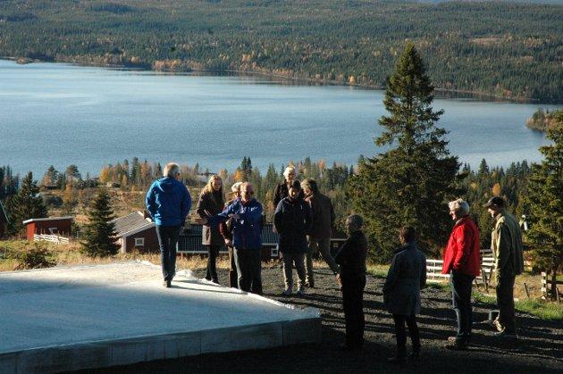 BEFARING: Planutvalget i Østre Toten kommune på befaring i 2013.