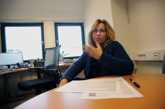 HØYRE: Gruppeleder Anne Kristine Linnestad i Ski.