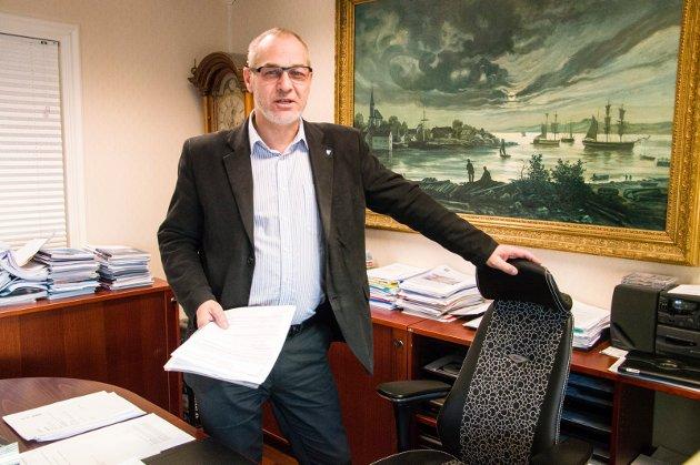 Rune Høiseth. ordfører. AP