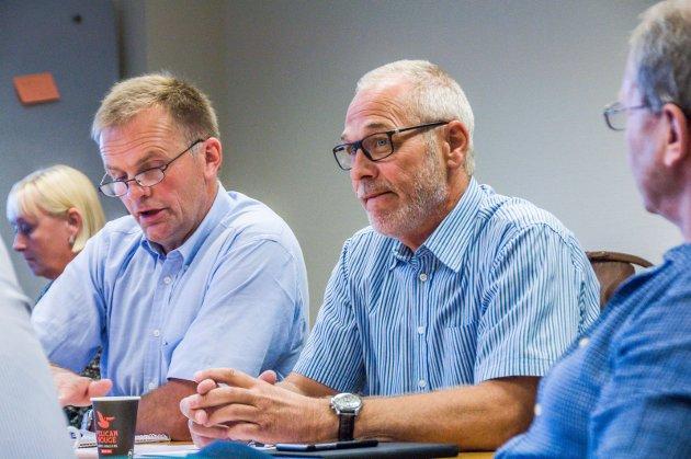 Knut Olav Omholt (t.v.) og Rune Høiseth. Foto: Lasse Nordheim