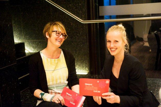 Cecilie Verde og Anne Blomquist Withbro og flere med dem arrangerer Julaften i Larvik.