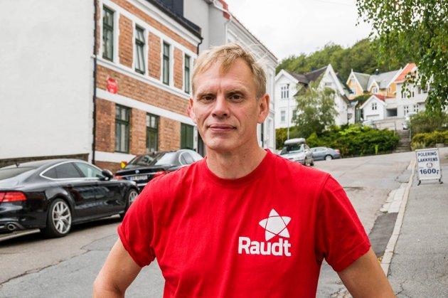 Rødt. Vinjar Sten Olav Rosendal. Foto: Lasse Nordheim