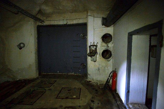 Østlendingen har besøkt Elverums hemmelige, underjordiske lekeplass, midt under vanntårnet på Christiansfjeld festning.