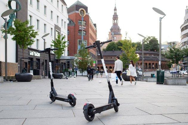 SPARKESYKLER: Selskapet Bird ønsker å plassere ut el-sparkesykler i Elverum.