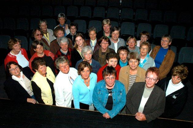 Sang: Damekoret Fønix i 2005.