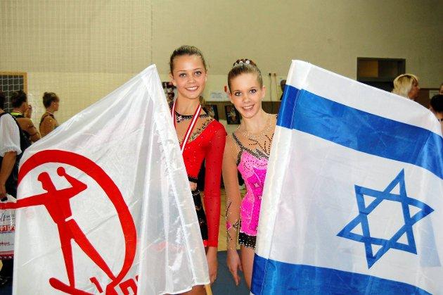 I ISRAEL: I 2011 deltok Maria Heidenberg Lund og Tonje Jenssen på RG Open Eilat i Israel. Dette var Tonjes første konkurranse utenlands.