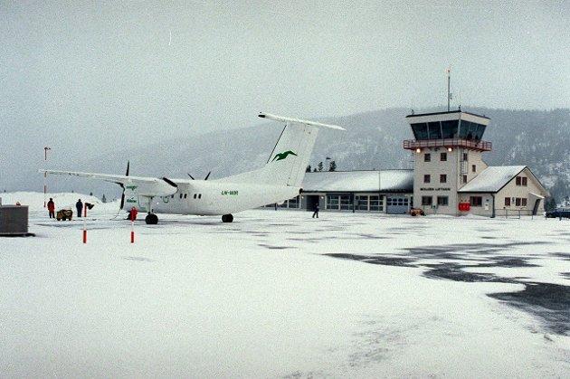 Kjærstad lufthavn, Mosjøen. Arkivfoto