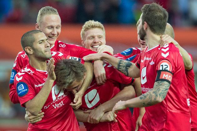 Brann har startet sesongen meget bra i Tippeligaen. Foto: Marit Hommedal / NTB scanpix