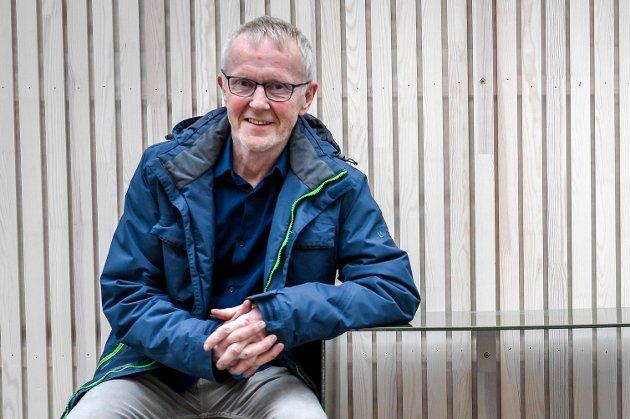 Olav Nyjordet er ydmyk til å å være tidenes første ordførerkandidat for Miljøpartiet De Grønne i Rana. Han er ikke en typisk MDG-politiker, som har både snøscooter og motorsykkel.