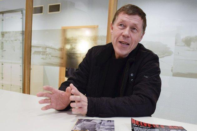 Ole J. Andersen har sin andre bok klar i god tid før krimhøytiden, påsken.