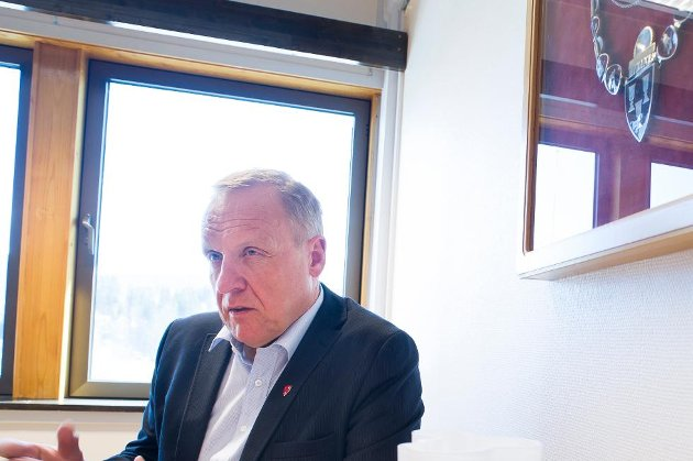 Lars Magnussen, ordfører i Jevnaker.