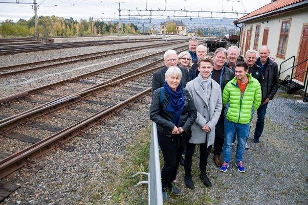 Banevokterne er stiftet for å skape engasjement for Ringeriksbanen. Bjørn Harald Blaker håper gruppen når det målet.