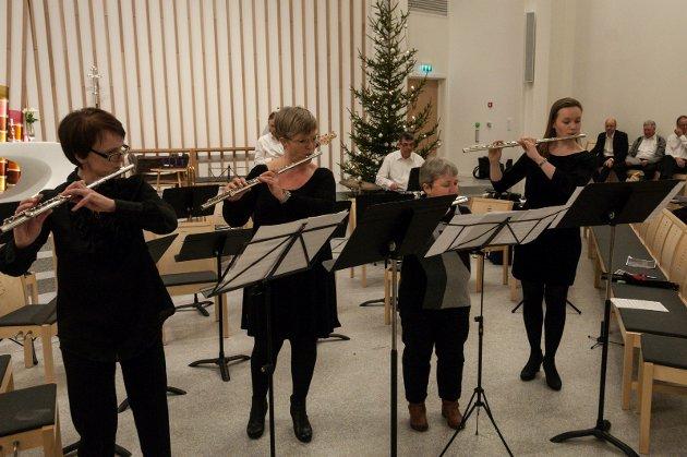 Ensemblekonsert Hønefoss kirke HUK og Ringerike trekkspillklubb