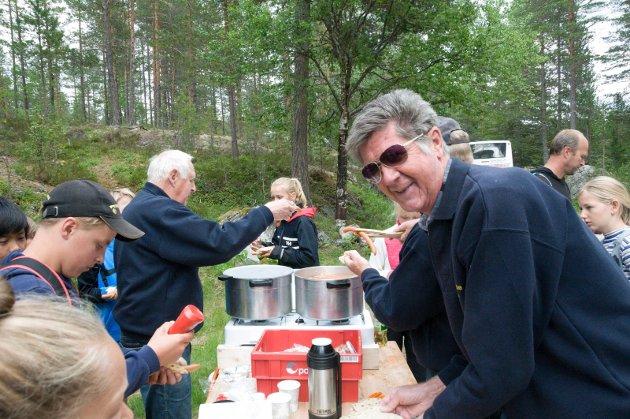 Elever fra Nes, Hedalen og Begnadalen skole på tur i Vassfaret