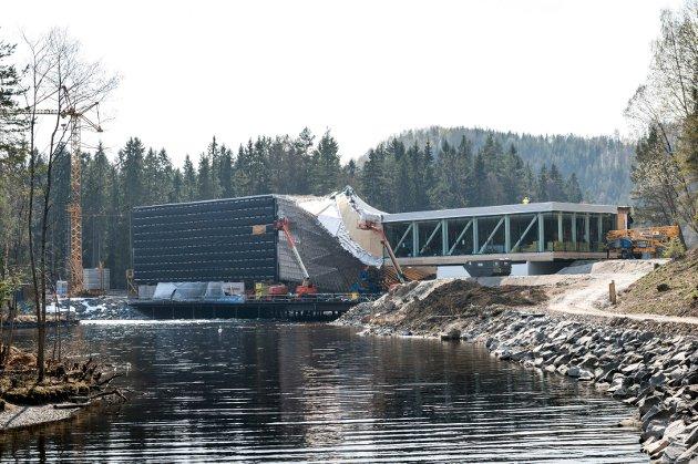 Under bygging: Åpningen er satt til 18. september.