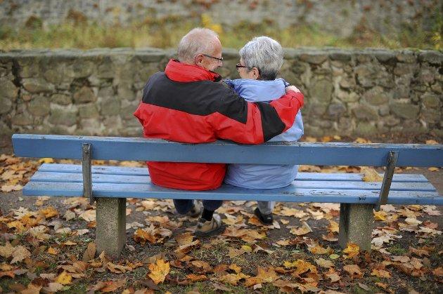 Før bølgen: Fremtidsrettet eldrepolitikk handler ikke om dem som vi i dag anser som gamle. Den handler mer om de som er unge i dag. I 2050 er de nemlig ca 62 år og dermed ved den grensen hvor man i dag ser at eldre arbeidstagere faller ut.Foto: NTB Scanpix
