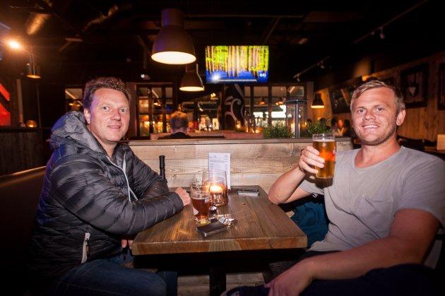 Lillestrøm : Frank Arild og Ken-Roger                              Foto: Anders Schau