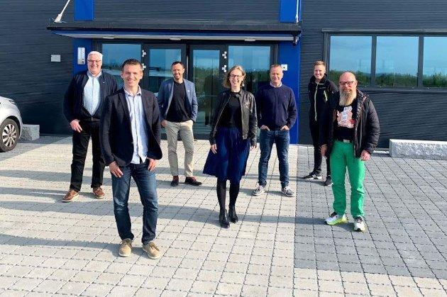 MULIGHETER: Næringsminister Iselin Nybø (V) fikk en grundig innføring i flyplasskommunens næringsmuligheter da hun besøkte Ullensaker i fjor høst. Business Jessheim, Sundbytunet og Gardermoen næringspark sto på programmet.
