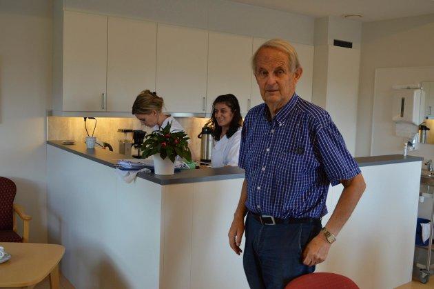 Eivind Spetalen mener nedleggelsen av Lunden er en skal for kommunen.